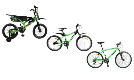 Kawasaki Steel Frame Bicycles from AED 549