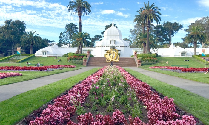 Conservatory Of Flowers   Golden Gate Park: Individual Or Family Membership  At Conservatory Of Flowers
