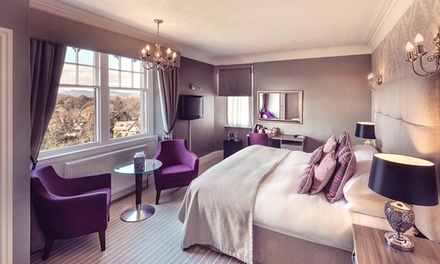 Lake District: Classic or Occasion Room for Two with Breakfast, Dinner and Late CheckOut at 5* Hillthwaite House Hotel