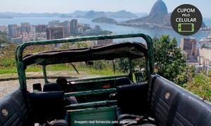 Jeep Tour: Jeep Tour – Zona Sul: Jeep Tour no Jardim Botânico + Floresta da Tijuca para 1 ou 2 pessoas