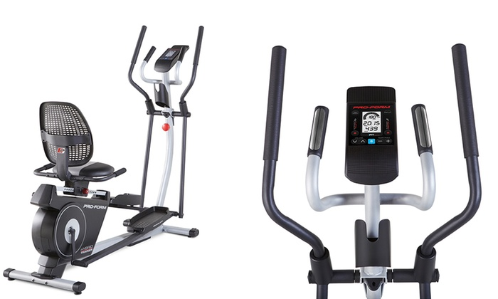 Up To 48% Off on Hybrid Elliptical/Recumbent Bike | Groupon Goods