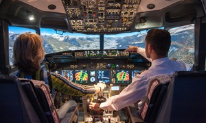 Flight Sensations Montpellier: Piloter un Boeing 737-800 simulateur de vol rofessionnel dès 49,90 € avec Flight Sensations Montpellier