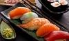 Menu japonais en 3 services