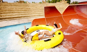 Dreamland Aqua Park (Tickets): Eid Al Adha at Dreamland Aqua Park Admissions with Indian Combo Meal or Buffet Lunch (Up to 38% Off)