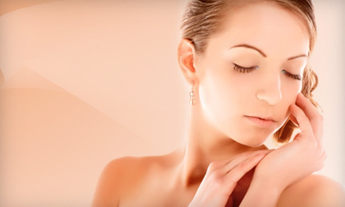 about face - Sun Prairie: Elite or Caviar Facial, Chemical-Exfoliation Facial Peel, or Both at about face (Up to 53% Off)