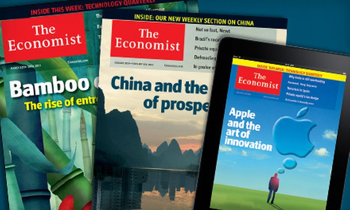 """""""The Economist"""" - Saskatoon: $79 CAN for 51 Issues of """"The Economist"""" with Digital Access ($137.19 CAN Value)"""
