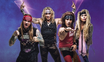 Steel Panther: Sunset Strip Live! on Friday, March 30, at 8:30 p.m.
