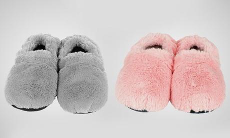 Verwarmbare magnetronslippers in kleur en maat naar keuze voor € 9,99 (33% korti