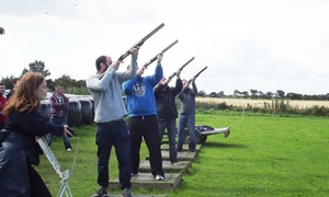 Foylehov Activity Centre: Laser Clay Pigeon Shooting, Archery, and Footgolf,  Package for Two or Four at Foylehov Activity Centre (Up to 57% Off)
