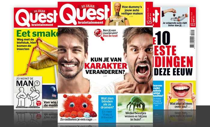 Abonnement quest magazine groupon goods for Abonnement quest