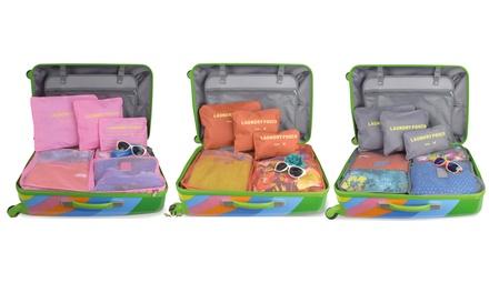 Organizer da valigia 6 pezzi