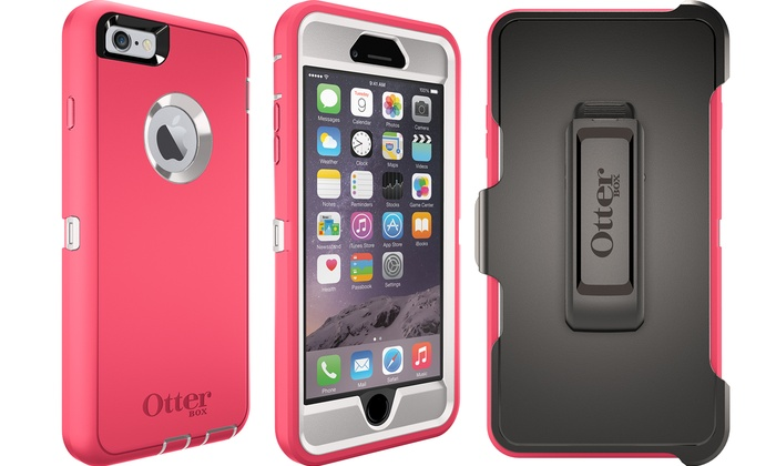 cheap for discount 18bb8 02ae3 OtterBox Defender Series Cases for iPhone 6/6 Plus | Groupon