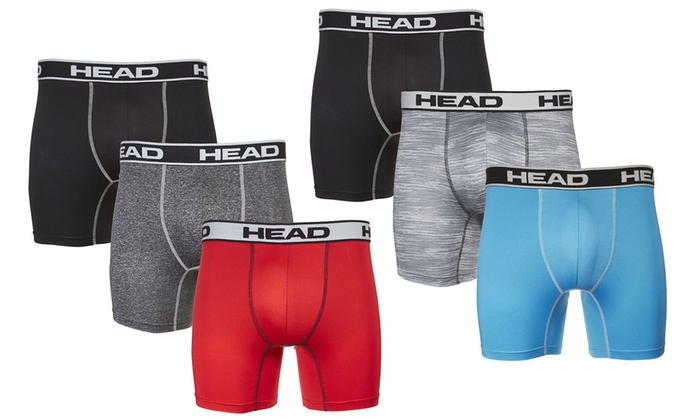 4cb28ded2558 Up To 57% Off on Head Men's Athletic Boxer Briefs | Groupon Goods