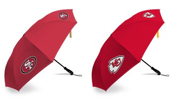 Fabrique NFL Reverse Open/Close Betta Brella Umbrellas (1- or 2-Pack)