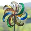 Flower Scroll Garden Spinner