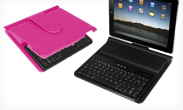 Hype All-in-One iPad Workstation: $32.99 for a Hype All-in-One Bluetooth iPad Workstation in Black or Pink ($69.99 List Price). Free Shipping and Returns.