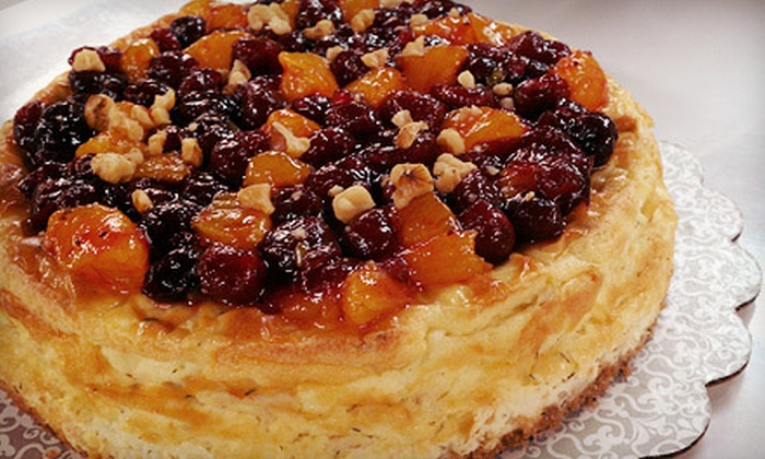 Anthony's Heavenly Cheesecake - Evansville: $15 for Any Savory Cheesecake at Anthony's Heavenly Cheesecake (Up to $35 Value)