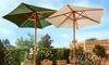 Houten parasol, 208 cm