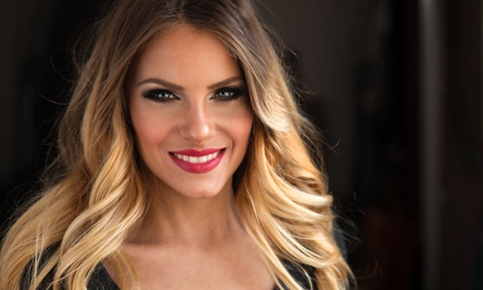 AnTina's Salon & Boutique - Carnegie: One Haircut or One Balayage or Full Highlight with Blowout at AnTina's Salon & Boutique (Up to 60% Off)