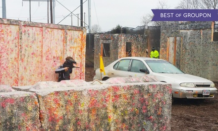 Paintball Packages for Four People at Pev's Paintball (Up to 91% Off)