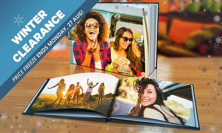 WINTER CLEARANCE: for a Personalised Hardcover Photobook Don't Pay up to $189.99
