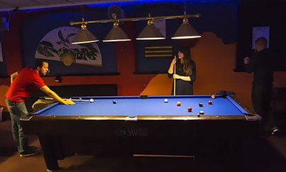 image for Two or Four Hours of Snooker or Pool with Beer and Burger at Spot White Snooker & Pool Club (Up to 59% Off)