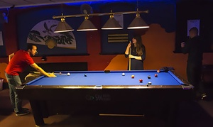 Spot White Snooker & Pool Club: Two or Four Hours of Snooker or Pool with Beer and Hot Dog at Spot White Snooker & Pool Club (Up to 59% Off)
