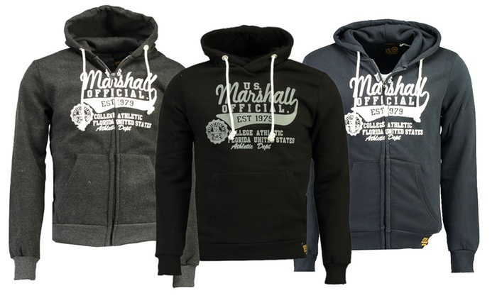 cheap official shop official images Sweat U.S Marshall Homme | Groupon