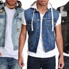 Agile Men's Denim Vests