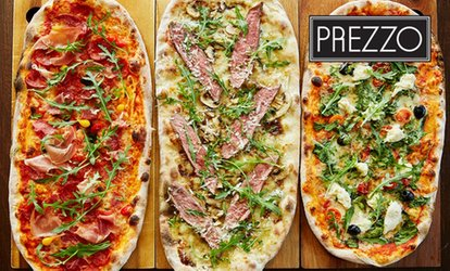 Up to £90 Towards Italian Cuisine and Drinks at Prezzo, Multiple Locations (Up to 34% Off)