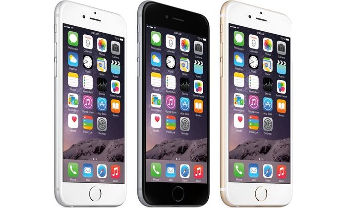 Pan Euro Traders: Apple iPhone 6 ou 6 Plus reconditionnés, 16, 64 ou 128 Go, accessoires, étui et verre trempé, livraison offerte