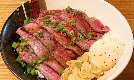 Asian Fusion Charcoal BBQ Lunch or Dinner at Chuan BBQ (Up to 48% Off). Two Options Available.