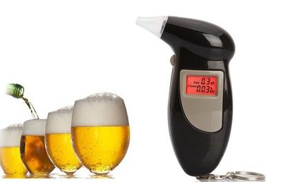 Hochpräziser Atem Alkohol Tester mit 5 Mundstücken