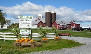 Up to 27% Off Fall Activities at Ellms Family Farm at Ellms Family Farm, plus 6.0% Cash Back from Ebates.
