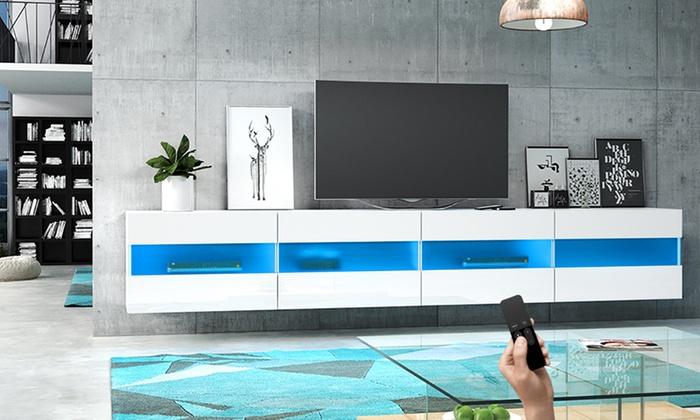 Mobile porta tv sospeso brico groupon goods - Porta tv sospeso ikea ...