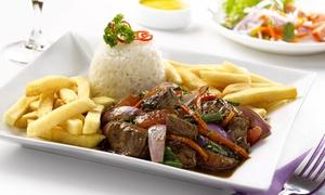 LA PENA DE POCHO: Menu peruviano completo con piatti a scelta e bevande per 2 o 4 persone al La Peña de Pocho (sconto fino a 66%)