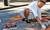 42% Off LB Lounge Entry at Via Colori Street Painting Festival
