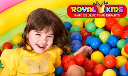 1, 2 ou 3 entrées au parc Royal Kids de Buchelay dès 6,50 €