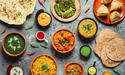 Indian Lunch Banquet + Wine or Beer $29, 4 $58 or 6 Ppl $87 at Khanna Indian Restaurant Up to $180 Value