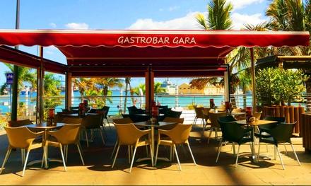 Menú de picoteo para 2 con 4 raciones y bebida con opción a cóctel en GastroBar Gara (hasta 59% de descuento)