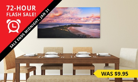 for a Personalised Canvas Print Don't Pay up to $239.95