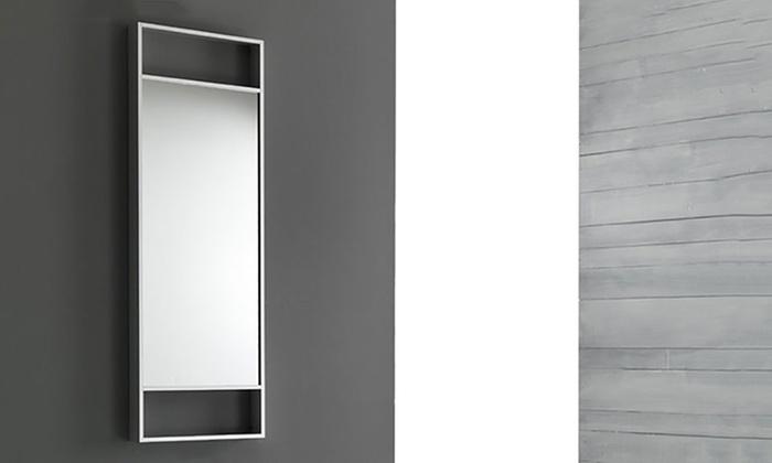 Specchio da parete groupon goods - Specchio romantico riflessi prezzo ...