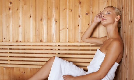 One or Four 30-Minute Single Sunlighten Infrared Sauna Sessions at Xpress Wellness Atlanta (Up to 67% Off)