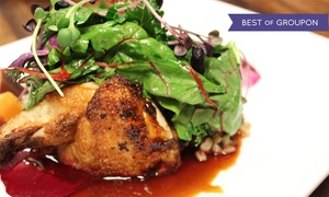 Dolce: Seasonal American Cuisine for Two or Four at Dolce (Up to 39% Off)
