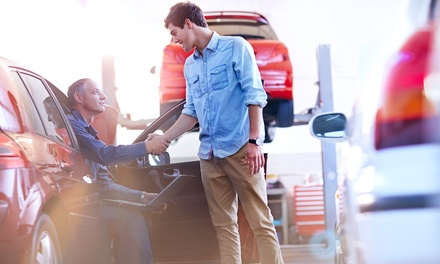 Texas State Auto Inspection and/or Tire Rotation for One Car at Rodeo Automotive (Up to 50% Off)