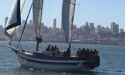 $39 for Ticket for Any Sailing Tour at San Francisco Sailing Company ($65 Value)