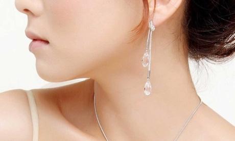 Pendientes decorados con cristales de Swarovski®