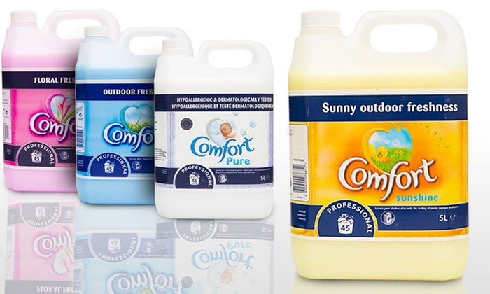 5L Comfort Fabric Softener Concentrate, 142 Washes from £10.50
