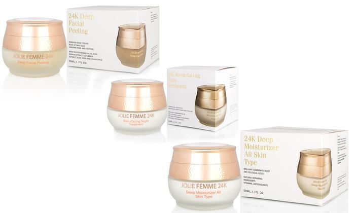 Jolie Femme 24K Essentials Skincare