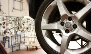 Automobil AG: Räderwechsel inkl. Wuchten und Spezial-Radwäsche, optional mit Einlagerung, bei Automobil AG (bis zu 72% sparen*)